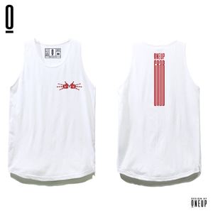 ONEUP ST02 LONG SLEEVELESS - HANDCRAB - WHITE