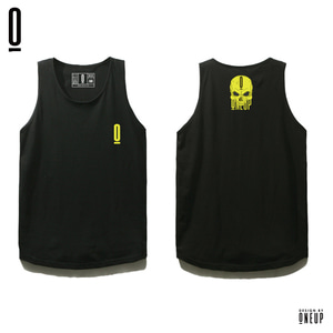 ONEUP ST02 LONG SLEEVELESS - LIMESKULL - BLACK
