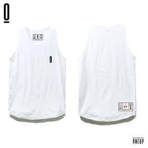 ONEUP ST02 LONG SLEEVELESS - BOX - WHITE